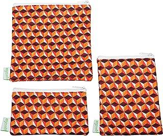[Wegrecoo]Wegrecoo Wegreeco Reusable Snack Bags Set of 3, WE-CSB1-4 [並行輸入品]