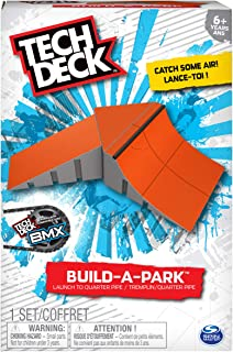 Tech Deck - Build-A-Park - Launch to Quarter Pipe (Red)