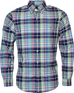 Mens Plaid Oxford Shirt