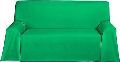Martina Home Levante Foulard Multifonctions/Plaid Tissu Rubis 180 x 270 cm