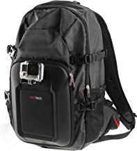 Navitech Action Camera Backpack With Red Storage Case And Integrated Chest Strap Compatible With The Kitvision Escape HD5
