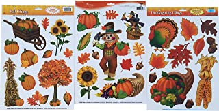 Fall Clings Bundle - Windows and Mirrors Party Accessory Decoration