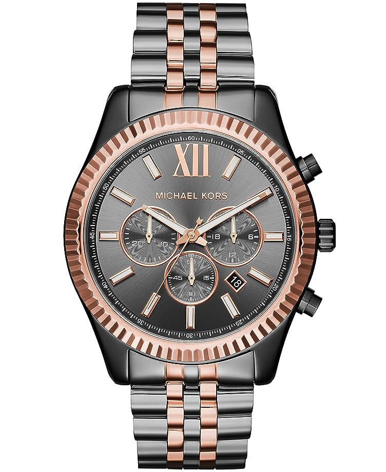Michael Kors Women's 44mm Lexington Two-Tone Chronograph Watch