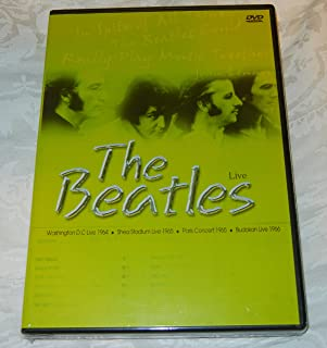 The Beatles Live: Washington DC 1964 / Shea Stadium 1965 / Paris Concert 1965 / Budokan 1966 [DVD] by The Beatles