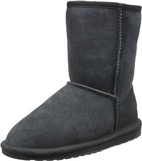 EMU Australia Women's Stinger Lo Premium Water Resistant Boot,Charcoal,8 M US