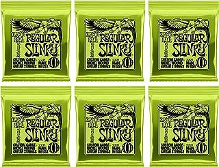 Ernie Ball Regular Slinky Nickel Wound Sets, .010 - .046, (6 pack)
