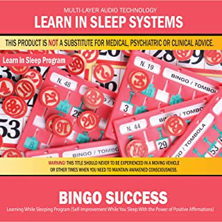 Bingo Success: Learning While Sleeping Program (Self-Improvement While You Sleep with the Power of Positive Affirmations)
