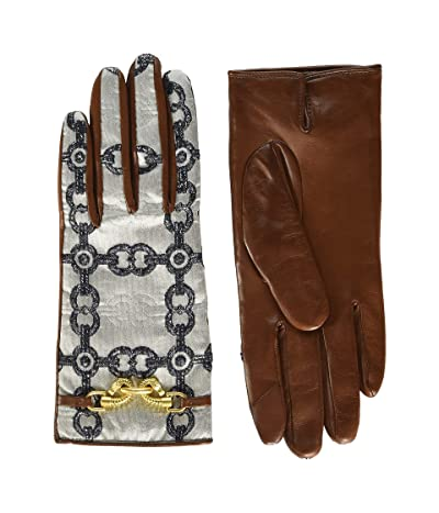 Tory Burch Jessa Gloves (Multi) Extreme Cold Weather Gloves