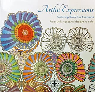 Artful Expressions Coloring Book For Everyone