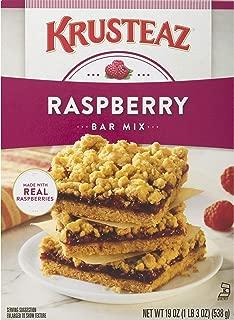 Krusteaz Raspberry Bars Supreme Mix, 19 Oz