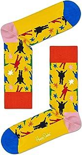 Happy Socks, Calcetines Beatles para hombre, multicolor, 7-11 (41-46)