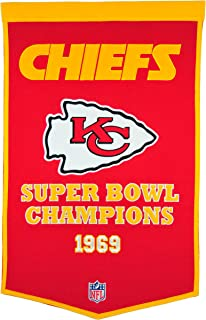 Winning Streak NFL Kansas City Chiefs Dynasty Banner