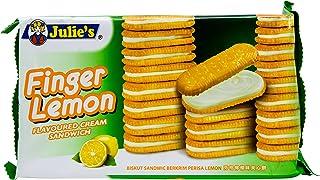 Julie's Finger Lemon Sandwich Biscuits, 126g