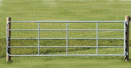 KERBL Verstelbare poort met montageset, Weidetor 3-4 m verstellbar