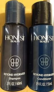HONEST BEAUTY Beyond Hydrated Shampoo 2fl oz & conditioner 1.9fl oz, pack of 1