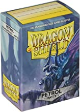 Arcane Tinman Dragon Shield Deck Protective Sleeves for Gaming Cards, Standard Size (100 Sleeves), Matte Petrol