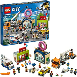 LEGO City Donut Shop Opening 60233 Store Opening Build...