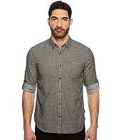 John Varvatos Star U.S.A. Button Down Long Sleeve Roll-Up w/ Single Pocket W530U1B