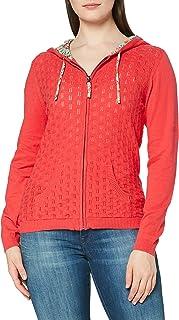 Joe Browns Women's Perfect Pointelle Hooded Knit Cardigan Sweater