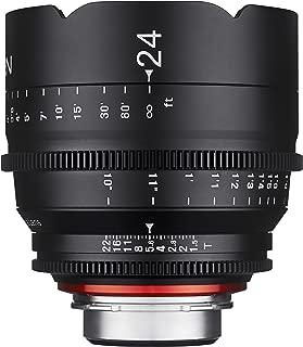 Rokinon Xeen XN24-C 24mm T1.5 Professional CINE Lens for Canon EF