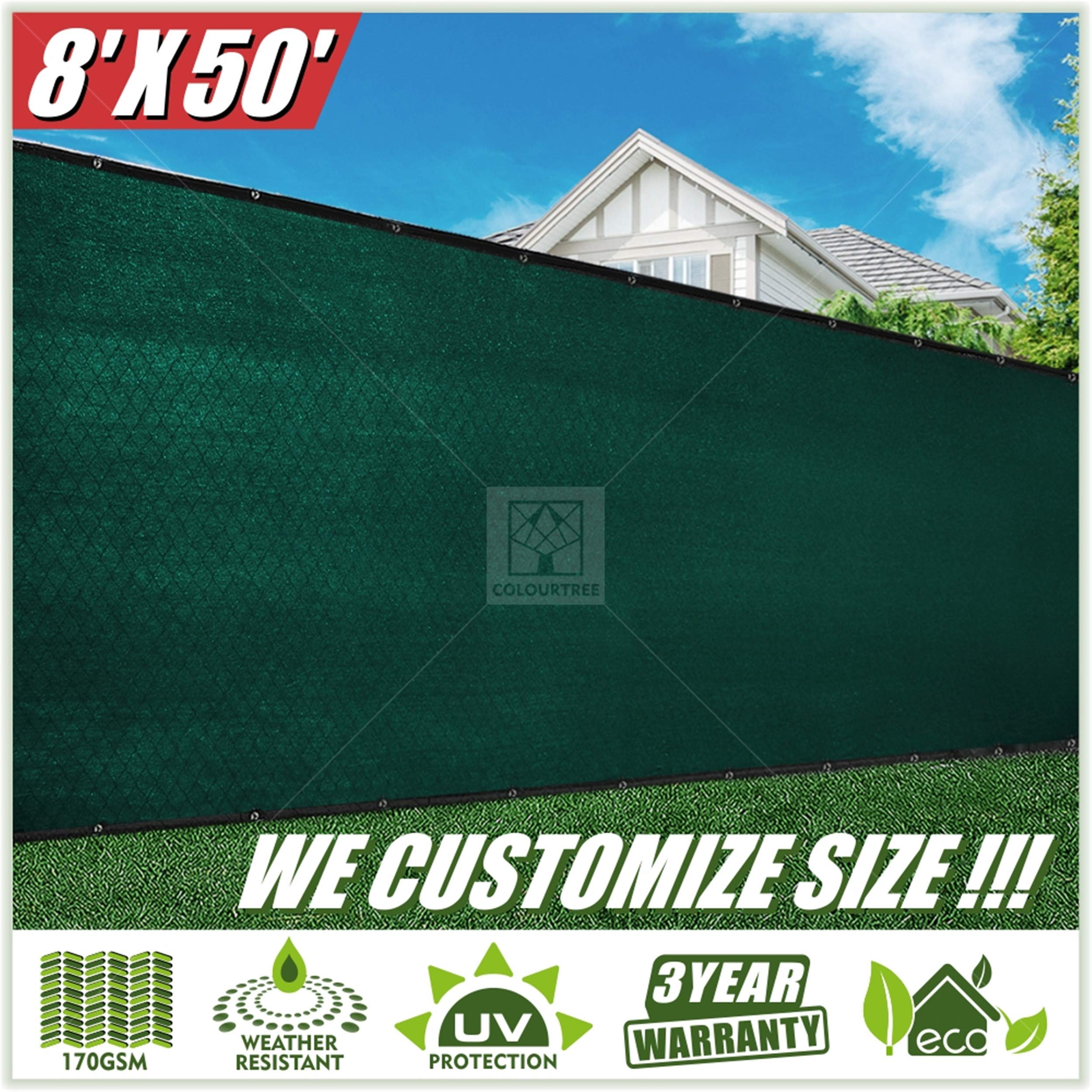 ColourTree Privacy Screen Windscreen Commercial
