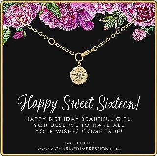 سويت 16 • هدايا عيد الميلاد السادسة عشر للفتيات المراهقات • سوار مملوء بالذهب 14 قيراط • سحر نجمة تشيكوسلوفاكيا • أساور لل...