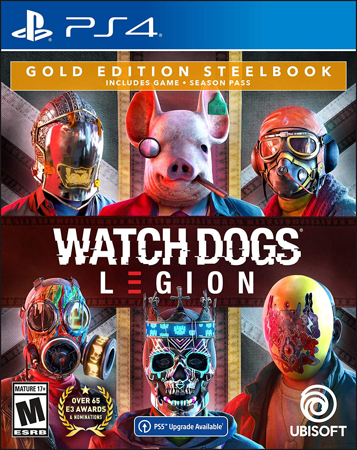 Watch Dogs: Legion wholesale PlayStation 4 Edition with fre Gold online shopping Steelbook
