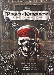 Pirates Of The Caribbean 1-4 (BOX) [4DVD] (IMPORT) (No hay versión española)