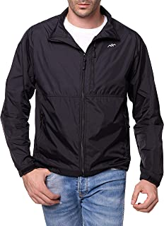 Trailside Supply Co. Men's Standard Water-Repellent Nylon Windbreaker Front-Zip up Jacket