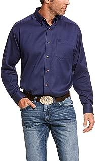 ARIAT Men's Classic Fit Long Sleeve Shirt, Bansky Midnight Run, XL