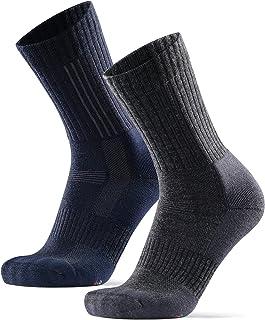 DANISH ENDURANCE Premium Outdoor Walking Socks in Merino Wool for Men & Women, Ankle Support, Anti-Blister, Odour & Bacter...