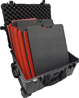 Black Pelican 1610 case with Custom Tool Control Foam Insert. Perfect for Tools.