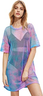 rainbow holographic dress
