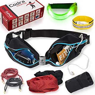 Codra Kinetics 8-in-1 Running Belt & Accessories Pack,...