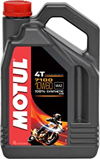 Motul 7100 4T Synthetic Ester Motor Oil - 10W60-4L. 102191