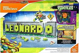 Mega Construx Teenage Mutant Ninja Turtles Ninja Name Builder Set.(Packaging May Vary)