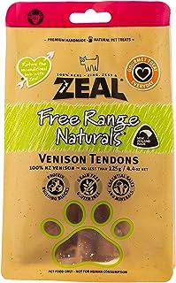 Zeal Free Range Natural Venison Tendons Dog Treats, 125g