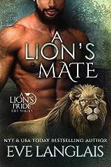 A Lion's Mate (A Lion's Pride Book 13) Kindle Edition