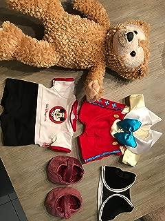 Disney Duffy The Bear Pinocchio Costume with Jiminy Cricket Plush 7
