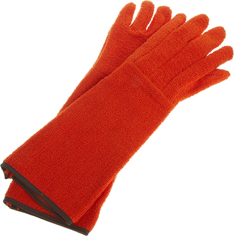 Bel Art Clavies Heat Resistant Biohazard Autoclave Oven Gloves 11 In Gauntlet H13201 0001