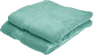 Pinzon Pima Cotton Towel Set (2 Hand Towels) - Mineral Green