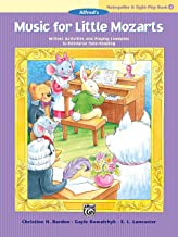 Music for Little Mozarts Notespeller & Sight-Play Book, Bk 4: Written Activities and Playing Examples to Reinforce Note-Reading