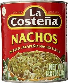 La Costena Nacho Jalapeno, 6lb 4 Ounce