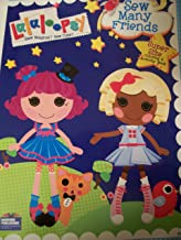 Lalaloopsy Super Size Coloring and Activity Book ~ Sew Many Friends (150 Pages)
