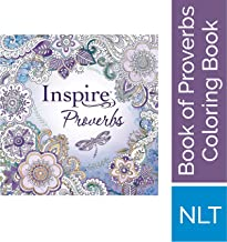 Tyndale Inspire: Proverbs (Softcover): Creative Coloring Bible, Includes Entire Book of Proverbs, Connect with God's Inspired Word Through Coloring and Reflection, Large Font Journaling Bible Book