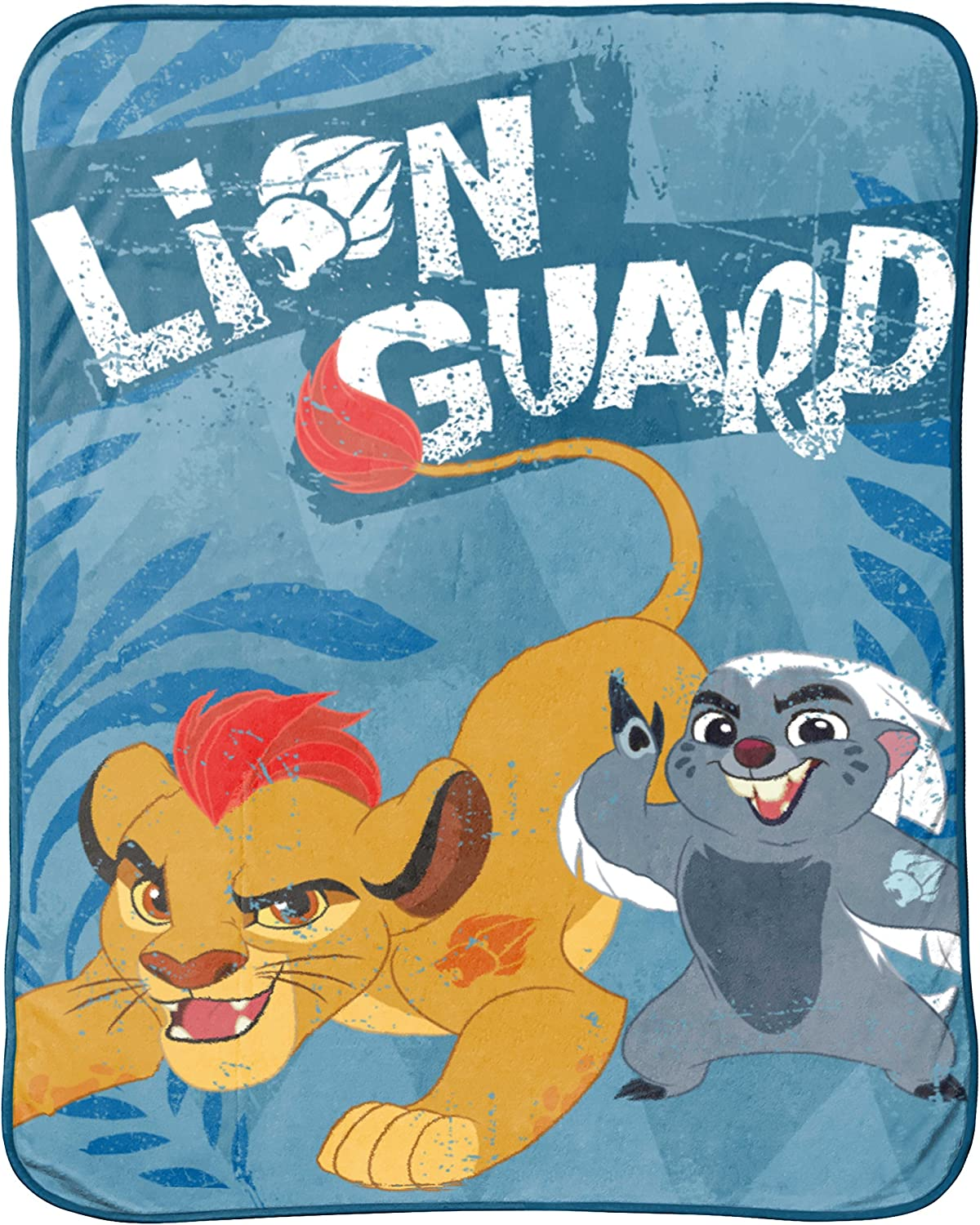 Disney Junior Lion Guard All for One 46  x 60  Throw Blanket