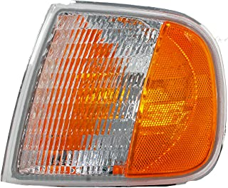 Dorman 1630260 Front Driver Side Turn Signal / Parking Light Assembly for Select Ford Models