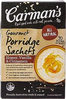Carman's Gourmet Porridge Sachets Honey, Vanilla & Cinnamon, 8-pack (320g)