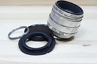 HELIOS-44 58mm F2 SLR LENS SCREW M39 M42 and bayonet Canon