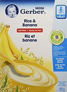 Gerber Gerber Rice W/Banana 227 Gm (#
